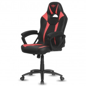 Armchair gamer Red Fighter series - metal frame - Leatherette - type bucket